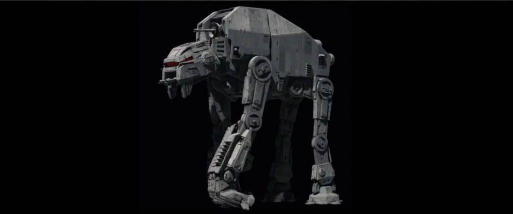 vehículos en Star Wars: The last Jedi